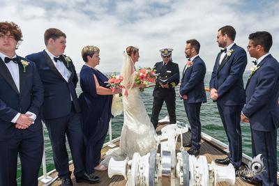 Gina & Ben's Wedding  8 - 18 - 2018 Hornblower Cruises San Diego. CA